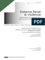 Artigo-Sistema Penal e Violência