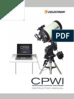 Manual pt aplicatia Celestron CPWI