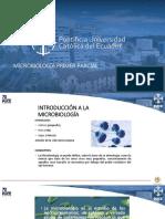 MICROBIOLOGÍA PRIMER PARCIAL
