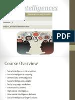 SOCIAL inteligence