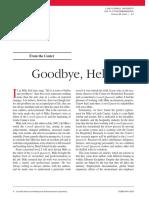 Goodbye, Hello