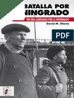La Batalla Por Leningrado David M Glantz Desperta Ferro Ediciones