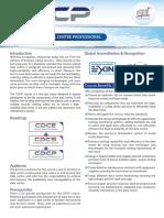 CDCP Brochure