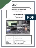 Laboratorio 16 Control PID
