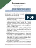RELATÓRIO MISSIONARIO NOVEMBRO