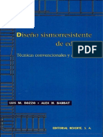 Diseño Sismorresistente de Edificios Luis M Bozzo Rotondo Alex H Barbat