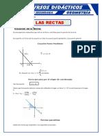 La Recta Geometría Analítica Para Quinto(Separata)