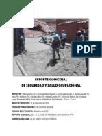 Reporte Quincenal Quispiquilla