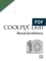 Nikon Coolpix L610 Manual Portugues