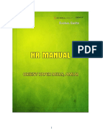 HR Manual of Orient Paper Mills