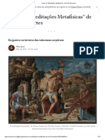 Artigo Descartes - Da Guerra No Terreno Das Naturezas Corpóreas
