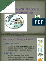 1.1. Los Materiales y Sus Propiedades