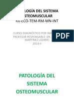 Sem 2 Clase- 2 Patologias osteoarticulares