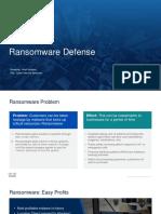 Ransomware Defense BDA