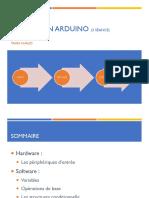 Formation Arduino 3 -  périphériques d'entrée