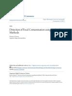 Detection of Fecal Contamination using Molecular Methods.pdf