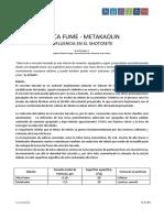 Silica Fume - Metakaolín - Influencia en El Concreto Lanzado