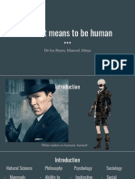 What It Means to Be Human (2)