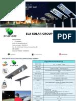 ela group solar led street light with cctv camera  els-she15  30  new  2019