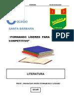 BOLETÍN 1 LITERATURA