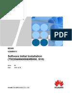 M2000 Software Initial Installation Guide (T5220&M4000&M5000, S10)(V200R011_08)(PDF)-En