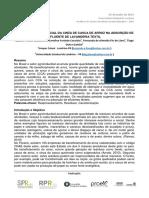 AVALIAÇÃO DO POTENCIAL DA CINZA DE CASCA DE ARROZ NA ADSORÇÃO DE EFLUENTE DE LAVANDERIA TEXTIL