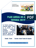 Plan Tutorial de Aula 2019