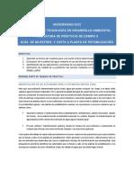 Guía potabilización- Practica de campo II