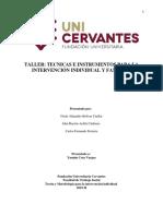 Taller Tecnicas e Instrumentos TS