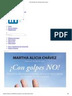 CON GOLPES NO de Martha Alicia Chavez