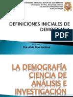 La demografía, Ciencia Análisis e investigación