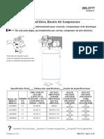 Powermate compresser parts list