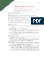 Histoire Des Methodologies de Lenseignement Des Langues (1)