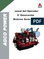 Manual de Operacion Motor AGCO 4 Generacion