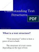 Texts and Text Structure