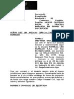 233273273 Modelo de Medida Cautelar de Embargo en Forma de Inscripcion Fuera de Proceso