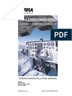 Terra TMA 350D Installation Manual