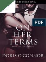 On Her Terms - Doris OConnor - Premiere Companions#2
