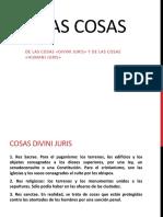 DERECHO ROMANO, CLASE 8 DE LAS COSAS.pptx
