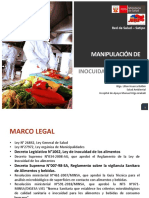 Manipulación de Alimentos - Blga. Lilian Huarca