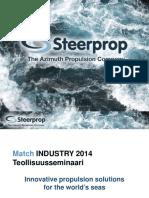 Steerprop Innovative Propulsion Solutions