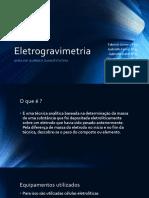 Eletrogravimetria
