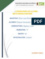 Hernandez Eleazar_unidad 4 Algebra Lineal Eleazar