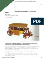 Historia do primeiro sistema transporte público
