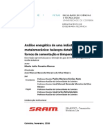 Analise Energetica de Uma Industria Etalomecanica