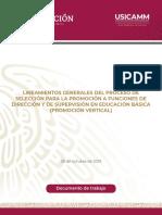 Lineamientos Generales Promoción. Eb 2020 2021