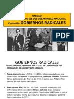 gobiernos radicales chile