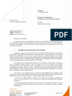 Aircal réponse rapport CTC