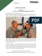 28-09-19 Realiza DIF Sonora 15va Jornada de Retinopatía Diabética en Agua Prieta