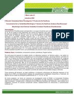Conocimiento De La Variabilidad Morfológica Y Química De Pasifloras Andinas (Passifloraceae)